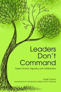 Leaders Don't Command Book Cover